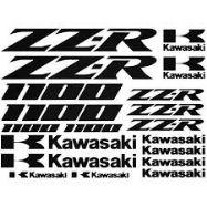 Kawasaki ZZ-R 1000 Stickers Car Motorbike Vinyl Decals